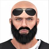 Heavy Beard Black