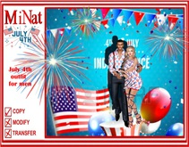 July 4th Independence day Maitreya Dress