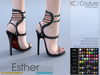 -KC- ESTHER HEELS - SLINK HIGH, MAITREYA, BELLEZA, MESHPROJECT