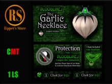 Ripper's The Garlic Necklace (BOX)