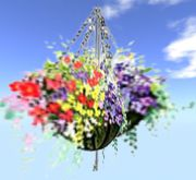 Easy Hanging Flower Basket