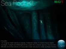 *The Cove* Sea Floor Kit (Wear to unpack)