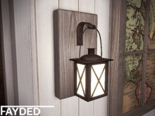 FAYDED - Rustic Sconce