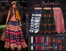 *B.D.R.* La Bohemia Maxi Skirt / 30 Colors/Patterns HUD