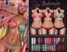 *B.D.R.* La Bohemia Bikini Set (Crochet) / 30 Colors/Patterns HUD