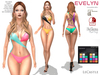 LeCastle - Evelyn Swimsuit  / Maitreya / Slink / Belleza / HUD