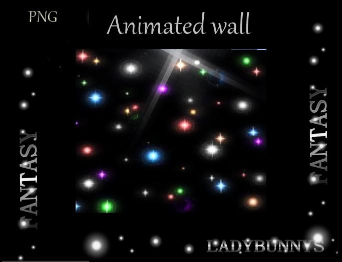 Star Wall Animation  / Dance Floor