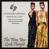 LEGENDAIRE The Way You Look Tonight GOWN with JEWELRY