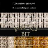 Old Wicker Textures