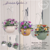 {what next} Summer Garden Hanging Planters