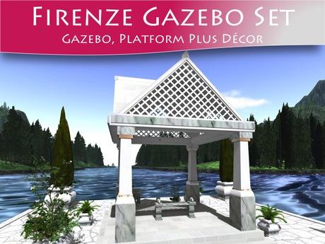 Moco Emporium ~ Firenze Classical Gazebo Set v3