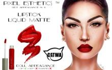 .:DA:. Lipstick Liquid Matte CATWA 5