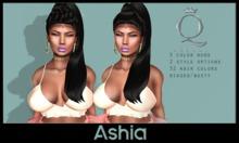 {H} Ashia (Rigged Mesh Hair) *DUO BUNDLE*