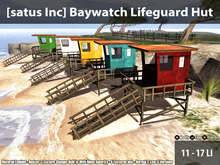 [satus Inc] Baywatch Lifeguard Hut