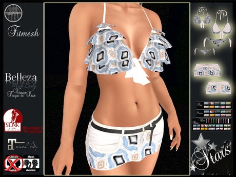 Stars - Maitreya clothes, Physique, Hourglass, Belleza - Kaitlyn