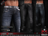 """= REBELLION = """"CRUDE"""" JEANS - Fitted Mesh Jeans, Adam, Aesthetic, Gianni, Slink, TMP, Belleza"""