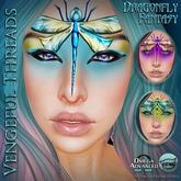 Vengeful Threads -  Catwa & Omega - Dragonfly Fantasy Makeup (B