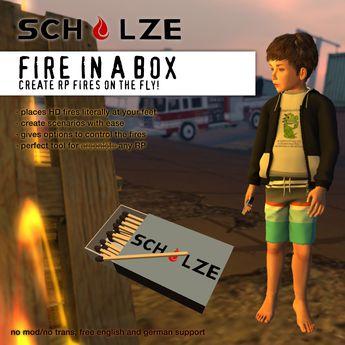 SCHULZE - Fire In A Box