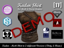 DEMO Bag - KADEN [TF] - [Wear to Unpack]