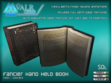 [VALR] Fancier Hand Held Book