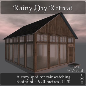 *~ by Nacht ~ Rainy Day Retreat