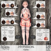 [LAB737] Inverse-Hyperion-ISIS-snow-Panties {Gacha} FOR ISIS MESH BODY