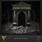[ Focus Poses ] Backdrop Cemetery