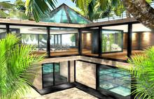 Floor-Aquarium House 144 Li
