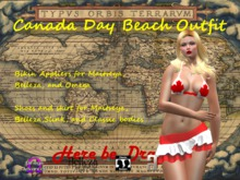 Canada Day Beach Outfit