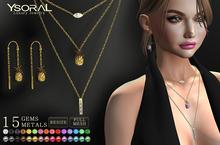 ~~ Ysoral ~~ .: Set Luxe 3 Necklace & Earrings Alloha:.