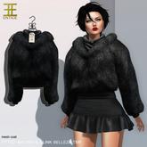 Entice - Winter Winds Coat - Black