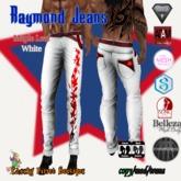 Raymond Jeans Maple Leaf White