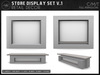 [AC] Store Display Set V1 - 5 x Mesh Displays - Full Permissions