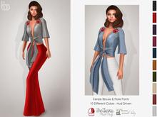 Bens Boutique - Kenzie Blouse & Pants - Hud Driven Maitreya,Slink(all),Belleza(all)