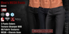 GAS [Men's MESH Pants Adam - 3 Colors in 3 Fabrics w/HUD]