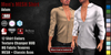 GAS [Men's MESH Shirt Adam - 12 Colors with HUD]