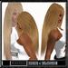 "Woman hair "" MILVA ""  blonde long hair lange Haare blond flat de longs cheveux blonds lisses largo y rubio pelo liso"