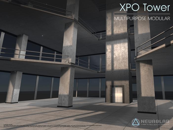 Skyscraper XPO (STORE/GALLERY+AIO System) [Neurolab Inc.]
