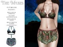 The Muses . Senga Bikini . Blue
