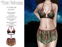 The Muses . Senga Bikini . Magenta