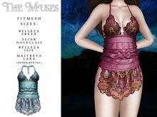 The Muses . Senga Dress . Blue