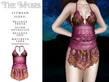 The Muses . Senga Dress . Magenta