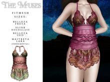 The Muses . Senga Dress . Pink
