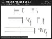[AC] Mesh Railing Set V.1 - Full Permissions