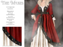 the muses . Gloriana . Red