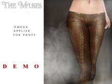 the muses . Laced Leather Pant - OMEGA applier . DEMO