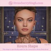 StrawberrySingh.com Koura Shape