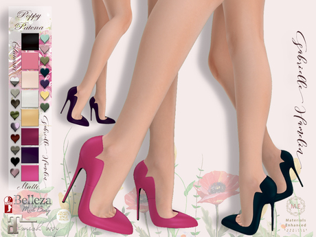 ♥Pretty Poppy ♥  Patent Leather Pumps - Include Patena Pumps  on HUD
