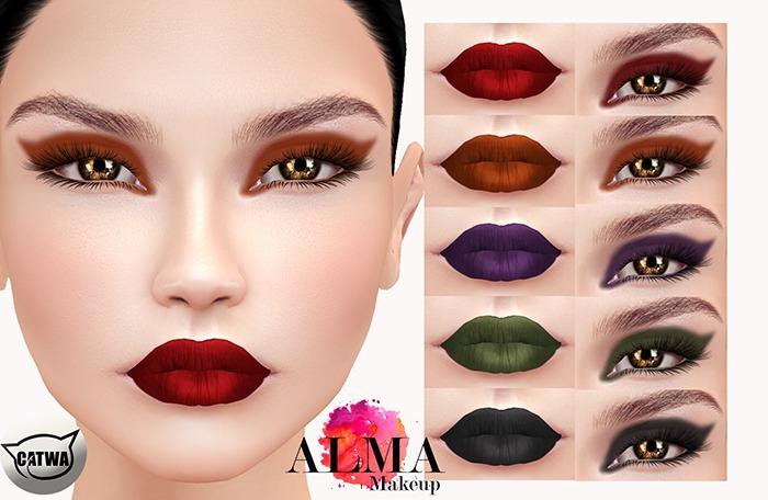 ALMA Makeup - Dark Romance - Catwa