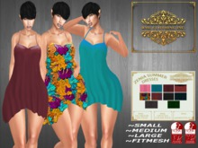 **SPECIAL PRICE** RML ZENIA SUMMER DRESSES (DRESS & HUD)